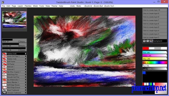 TwistedBrush Paint Studio Free Download