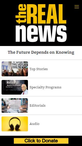 Скриншот The Real News