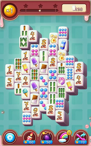 Mahjong POP puzzle: New tile matching puzzle android2mod screenshots 1