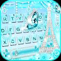 Diamond Paris Butterfly Keyboard Theme icon