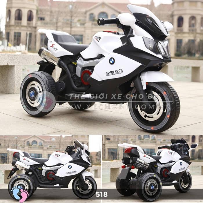 Xe mô tô điện thể thao cho bé 518 3