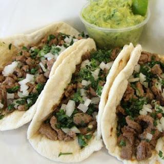 Saucy Carne Asada Tacos