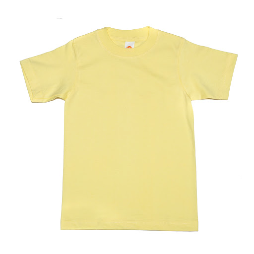 Franela Amarilla Cuello Redondo Talla 4