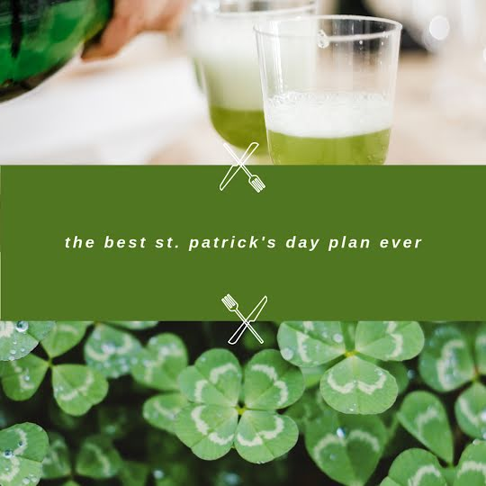 St. Patrick's Day Plan - St. Patrick's Day Template