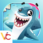 Whack un jeu casual de requin icon