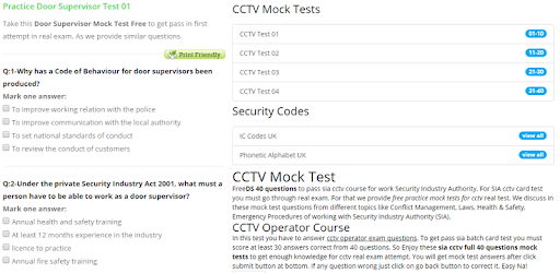 SIA Mock Test – Apps on Google Play