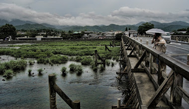 """Photo: The Togetsukyo Bridge 