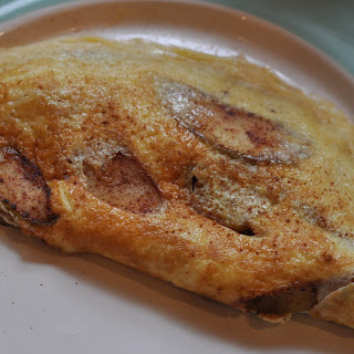 Apple Pie Omelet