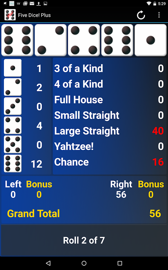 Five Dice! Plus Free- screenshot