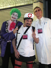 Photo: The Joker with the fetish nurse & doctor  Taken by Be & Me (http://www2.gol.com/users/be-n-me/)