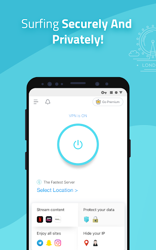 X-VPN - Free Unlimited VPN Proxy  screenshots 1