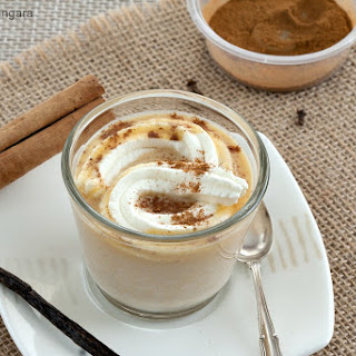 Pumpkin Pie White Hot Chocolate.