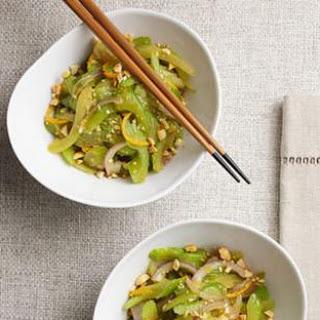 Stir-Fried Celery with Peanuts