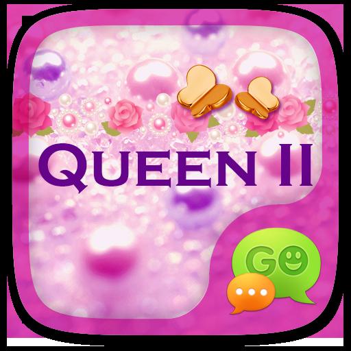 GO SMS PRO QUEEN II THEME 個人化 App LOGO-APP試玩