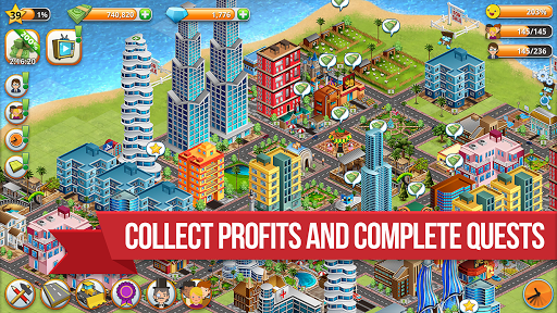 Village City - Island Sim: Build Virtual Town Game  screenshots 4