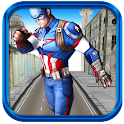 3D Captain Soldier Hero Run icon