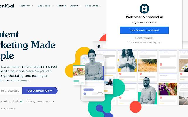 ContentCal Web Clipper