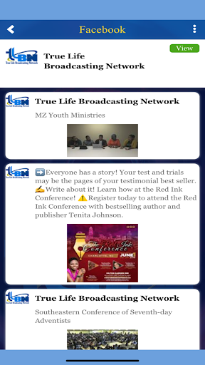 Screenshot for TLBN in United States Play Store