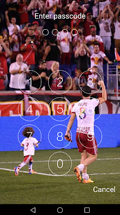 Keypad Lock Screen for New York Red Bulls 2018 - náhled