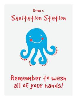 Sanitation Station - COVID-19 item