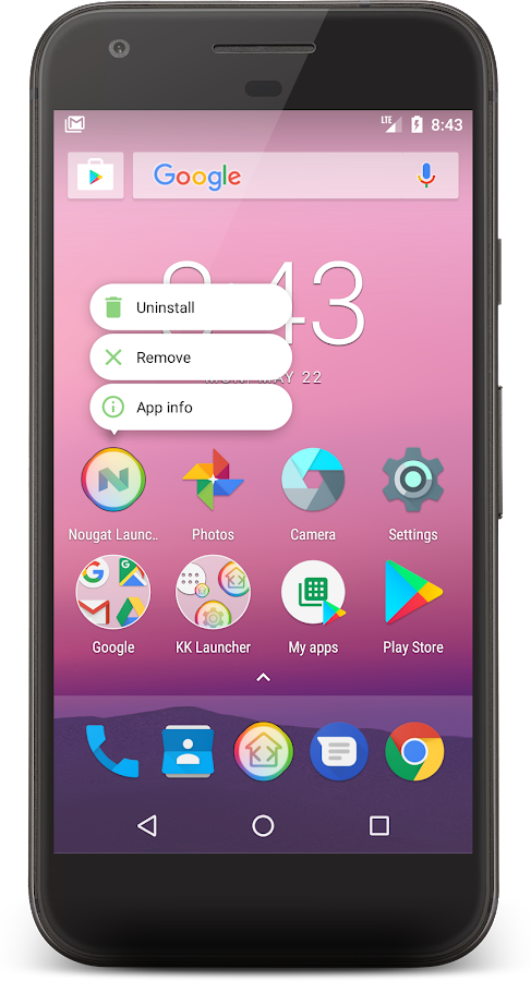 KK Launcher- screenshot