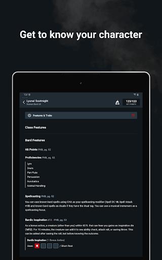 D&D Beyond Player Tools screenshot 15