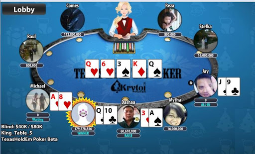 Krytoi Texas Holdem Poker. 11.0.1 Mod screenshots 5