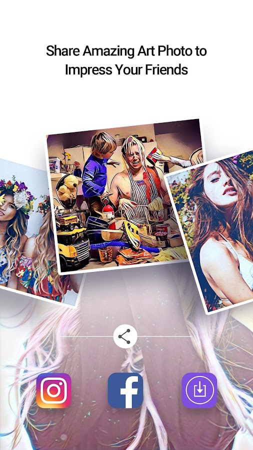 Picas - Art Photo Filter, Picture Filter- screenshot