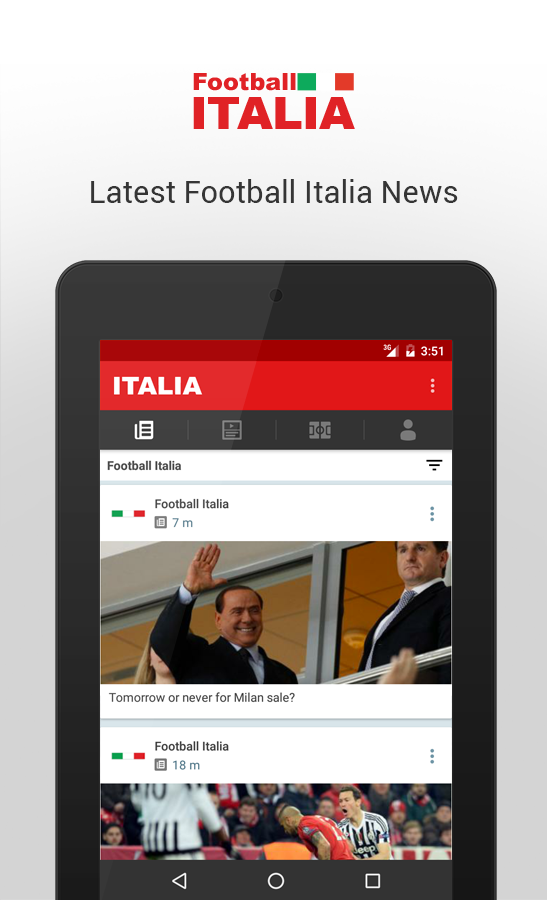 Football Italia- screenshot