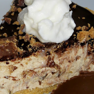 Easy Reese's Chocolate Peanut Butter Pie