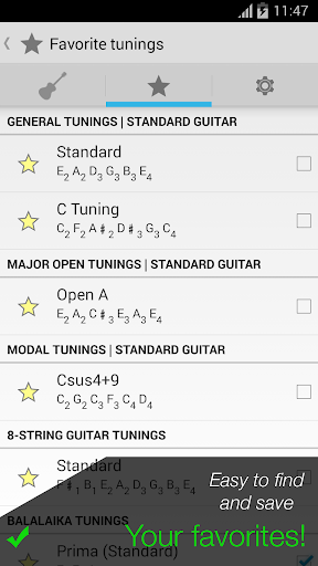 Pro Guitar Tuner 3.1.3 screenshots 4