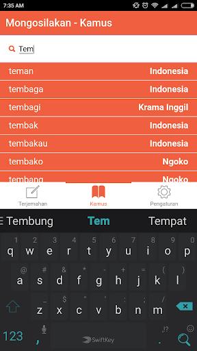 Translator Jawa 1.0.8 screenshots 2