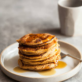Sweet Potato Millet Pancakes.