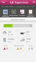 Screenshot of LG System Air Conditioner