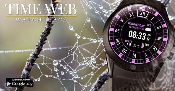 Time Web Watch Face- screenshot thumbnail