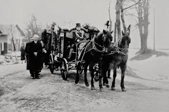 Photo: Pogrzeb Rudolfa Mullera - styczeń 1939 r.