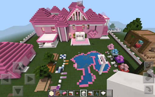 Barbie House For MCPE for PC