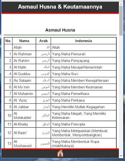 Asma'ul Husna