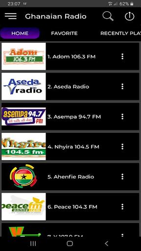 ghana radio - ghanaian africa news screenshot 1