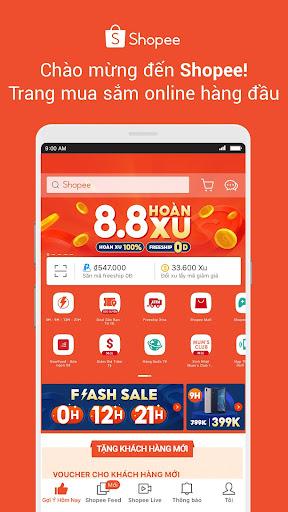 Shopee 8.8 Hoàn Xu 2.59.10 screenshots 1