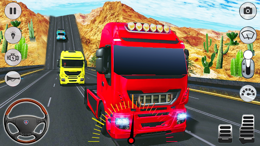 In Truck Driving: Euro Truck 2019 filehippodl screenshot 4