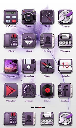 Viola Theme - ZERO Launcher|玩個人化App免費|玩APPs