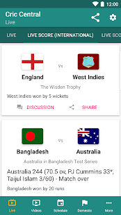CricCentral: Live Cricket Scores & More 🏏- screenshot thumbnail