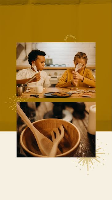 Winter Baking - Facebook Story Template