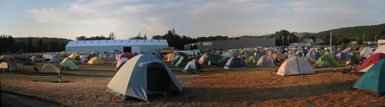 Photo: Day 0 - Cortland tent city