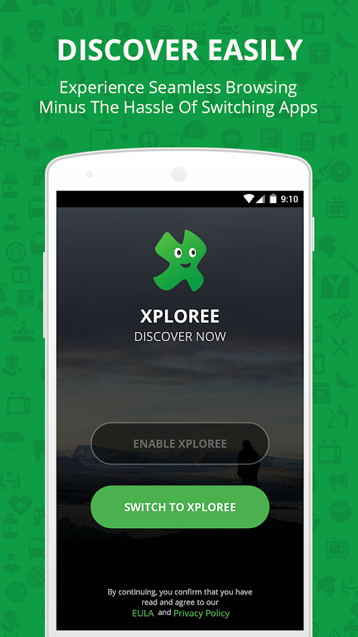 Xploree Smart Keyboard- screenshot