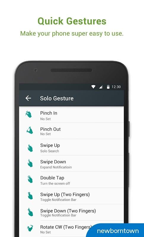 Solo Launcher-Clean,Smooth,DIY screenshots