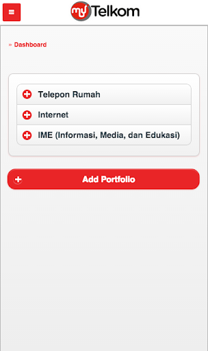 My Telkom screenshot 2