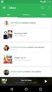 Saavn Music & Radio- screenshot thumbnail