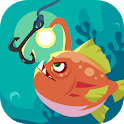Happy Fishing - Catch Fish and Treasures icon